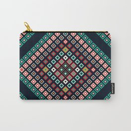 Vintage geometric print Carry-All Pouch