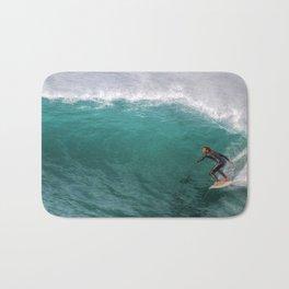 Surfing In California Bath Mat