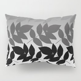 Hombre Leaf Black Gold Pillow Sham