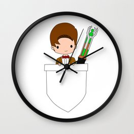 Pocket Doctor (Eleventh Doctor) Wall Clock