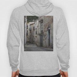Sicilian Alley in Caltabellotta Hoody