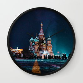 Cultural Landmark (Color) Wall Clock