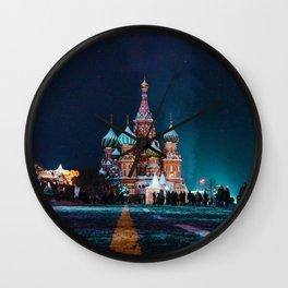 Cultural Landmark (Color) Wall Clock