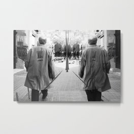"""""""We are only falsehood, duplicity, contradiction..."""" -- Blaise Pascal Metal Print"""