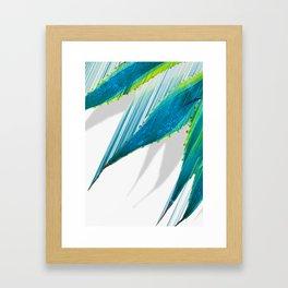 The soaring flight of the agave Framed Art Print