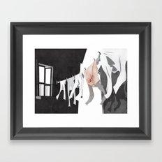 Domestic News Framed Art Print