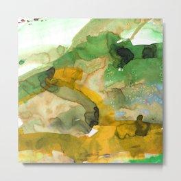 Vellum Watercolor Bliss 3A by Kathy Morton Stanion Metal Print