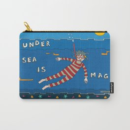 Snorkeling Boy Carry-All Pouch