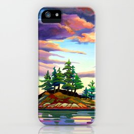 Skedans Islet iPhone Case