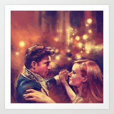 The Waltz Art Print