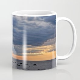 Dramatic Skies Over the Sea Coffee Mug