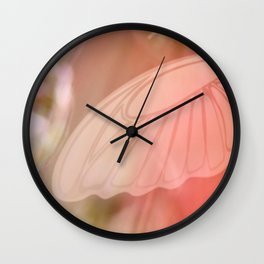 ROSE SPANGLES no5-QF-Butterfly Wall Clock