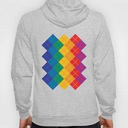 Rainbow Argyle Hoody