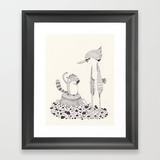 regular show Framed Art Print