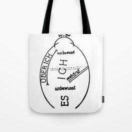 Freudian Strukturmodell Tote Bag