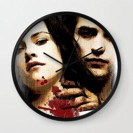 Kristen Stewart Portrait #vampire Wall Clock