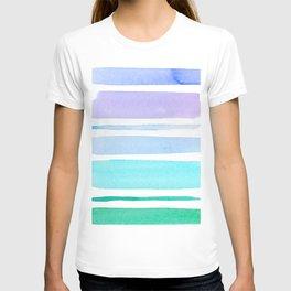 Watercolour Stripes no 1 T-shirt