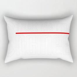 Trust Me I'm An Engineer Tee Rectangular Pillow
