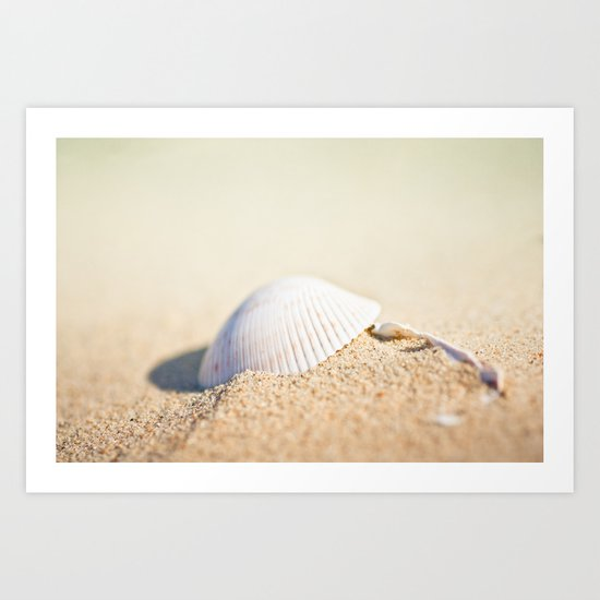 Listen to the Ocean Art Print