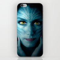 avatar iPhone & iPod Skins featuring Avatar by Karel Stepanek