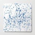 Splat Blue on White by projectm