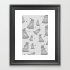 Daleks Framed Art Print