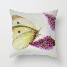 Simple and beautiful Throw Pillow
