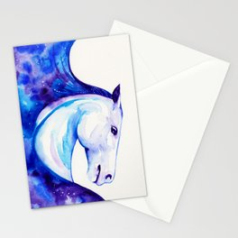 Galaxy Horse Stationery Cards
