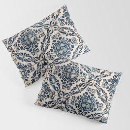 Azulejo IX - Portuguese hand painted tiles Pillow Sham