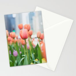Tulip Time in Chicago Stationery Cards