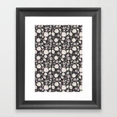 Ditsy Fall Florals  Framed Art Print