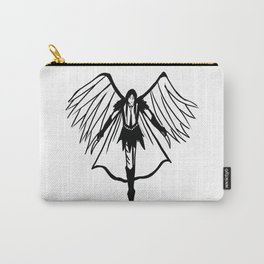 'Do Not Go Far From Me' Carry-All Pouch