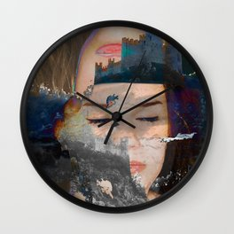 The Girl in the High Castle Wall Clock
