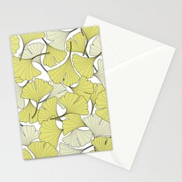 ginkgo leaves (special edition) Stationery Cards