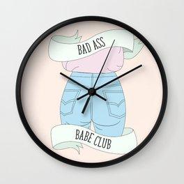 Bad Ass Baba Club 2018 Wall Clock