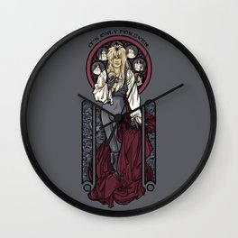 It's not long at all.... Wall Clock