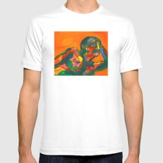 Fauvism Female Mens Fitted Tee White MEDIUM