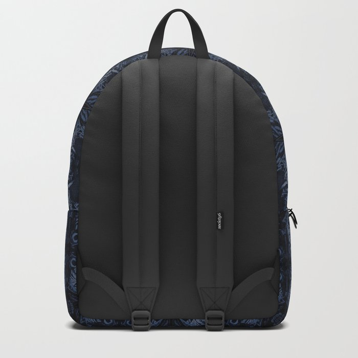 Death Driver Pattern (Medium) Backpack