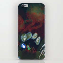 """underwater bedroom, illustration from my book """"Bunny Who Felt Different"""" iPhone Skin"""