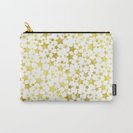 Magical Gold Stars Pattern Carry-All Pouch