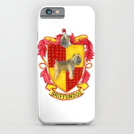 Dogwarts Griffondog iPhone Case