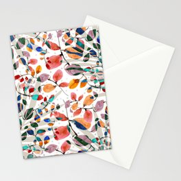 Plants abstratc Stationery Cards