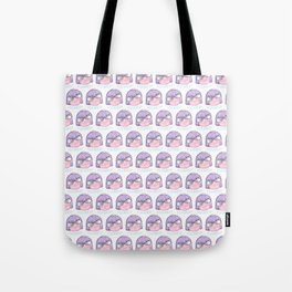 Scared Girly Tote Bag