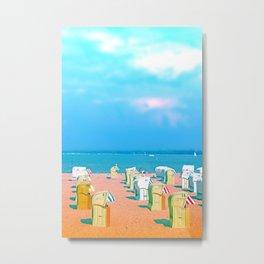 Travemünde Beachflair Metal Print