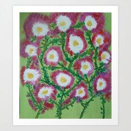 Flowers for Nana Art Print