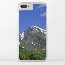 Scenic Seward Highway - Summer Clear iPhone Case
