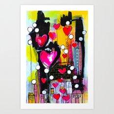 1026 Love Lane Art Print