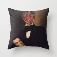 carnival Throw Pillows featuring Carnival by DIVIDUS