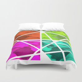 Pieces of Fish Duvet Cover