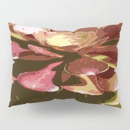Red Sedum Pillow Sham